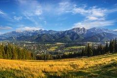 Panorama of the Tatras Royalty Free Stock Photo