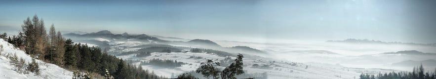 Panorama Tatry2 fotografía de archivo libre de regalías
