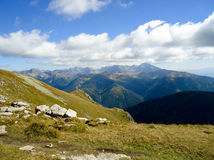 Panorama Tatry fatto di Ciemniak Fotografie Stock