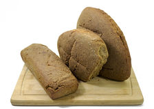 Panorama tedesco del pane di lievito naturale Immagine Stock