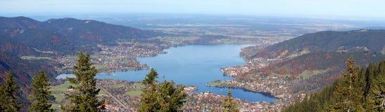 Panorama Tegernsee Stock Image