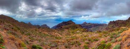 Panorama Teide góry tenerife wyspa kanaryjska Tenerife Hiszpania Zdjęcie Stock