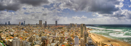 Panorama Of Tel Aviv Royalty Free Stock Photography