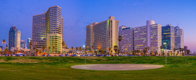 Panorama of Tel Aviv Stock Image