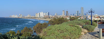 Panorama of Tel Aviv, Israel Stock Photo