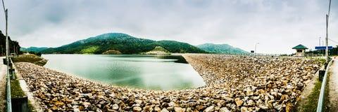 Panorama ~ Teluk Bahang Dam Stock Photography