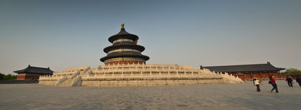 Panorama of Temple of Heaven Stock Image