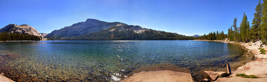 Panorama Tenaya Lake Stock Photography