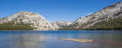 Panorama of Tenaya Lake in Yosemite National Park Stock Photos