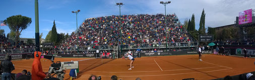 Panorama tennis brindisi serena williams brindisi fed cup 2015 Royalty Free Stock Photography