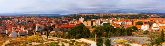 Panorama of Teruel. Aragon Royalty Free Stock Image