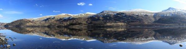 panorama- thirlmere Arkivfoto