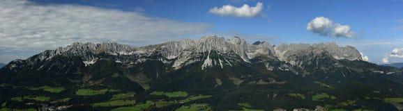 Wilder Kaiser Panorama, Tirol, Austria stock photos