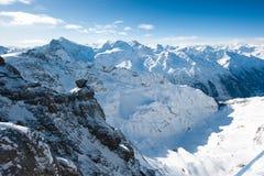 Panorama from Titlis Stock Photos