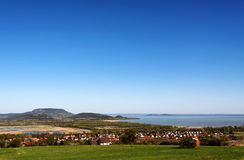 Panorama to Lake Balaton,Hungary Royalty Free Stock Photos