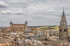 Panorama Toledo Stock Fotografie