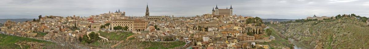 Panorama Toledo Royalty Free Stock Images