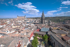 Panorama of Toledo, Spain Stock Photo