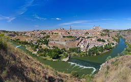 Panorama of Toledo Spain Royalty Free Stock Photography
