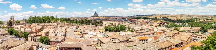 Panorama of Toledo Spain Royalty Free Stock Image