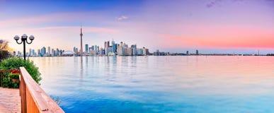 Panorama of Toronto City Stock Photo