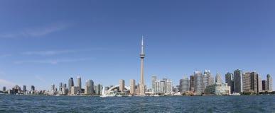 Panorama of Toronto Harbour Stock Image