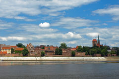 Panorama of Torun Stock Photo