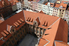 Panorama of Torun city in Poland Royalty Free Stock Photography