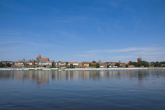 Panorama of Torun Royalty Free Stock Images