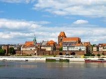 Panorama of Torun, Poland. Royalty Free Stock Photo