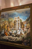 Panorama Tower of Babel. Dolls Stock Photography