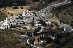 Panorama of the town of Fuengirola, Malaga, Spain Stock Photos