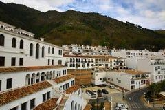Panorama of the town of Mijas, Malaga, Spain Stock Photos