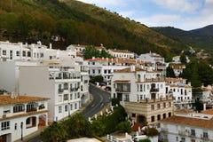 Panorama of the town of Mijas, Malaga, Spain Stock Photo
