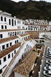 Panorama of the town of Mijas, Malaga, Spain Stock Images