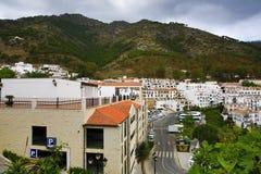 Panorama of the town of Mijas, Malaga, Spain Royalty Free Stock Photo