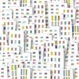 Panorama town. Seamless  pattern. part 2 stock illustration