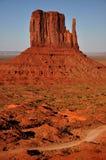 Panorama tribale della sosta dell'indiano di Navajo della valle del monumento Immagini Stock Libere da Diritti