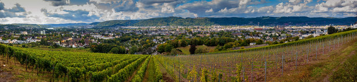 Panorama of Trier Royalty Free Stock Image