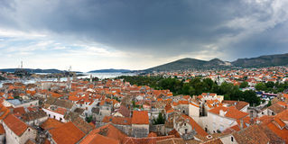 Panorama of Trogir Royalty Free Stock Photo