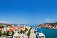 Panorama of Trogir in Croatia Royalty Free Stock Images