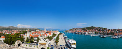 Panorama of Trogir in Croatia Royalty Free Stock Photos