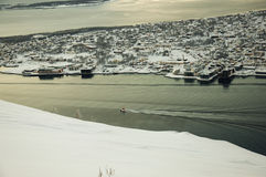 Panorama of Tromso Stock Photo