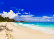 Panorama of tropical beach Stock Image
