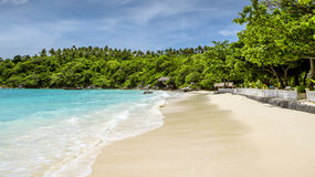 Panorama of a tropical beach, Thailand Stock Photo