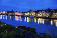 Panorama of Trouville-sur-Mer Royalty Free Stock Photo
