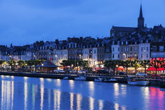 Panorama of Trouville-sur-Mer Royalty Free Stock Photos