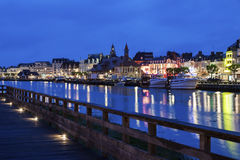 Panorama of Trouville-sur-Mer Stock Photo
