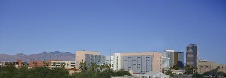 Downtown tucson arizona panorama stock photo image of for Abstract salon tucson