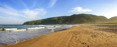 Panorama of Tucuns beach Royalty Free Stock Photo